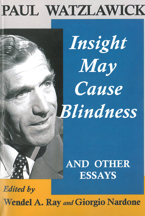 Insight may cause blindness