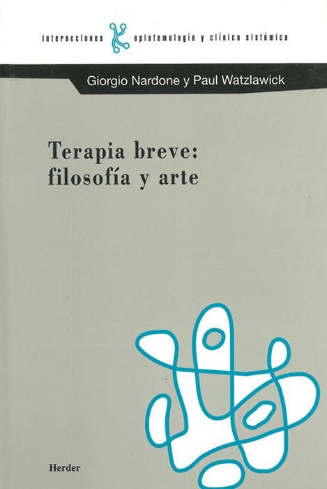 Terapia Breve. Filosofia y arte