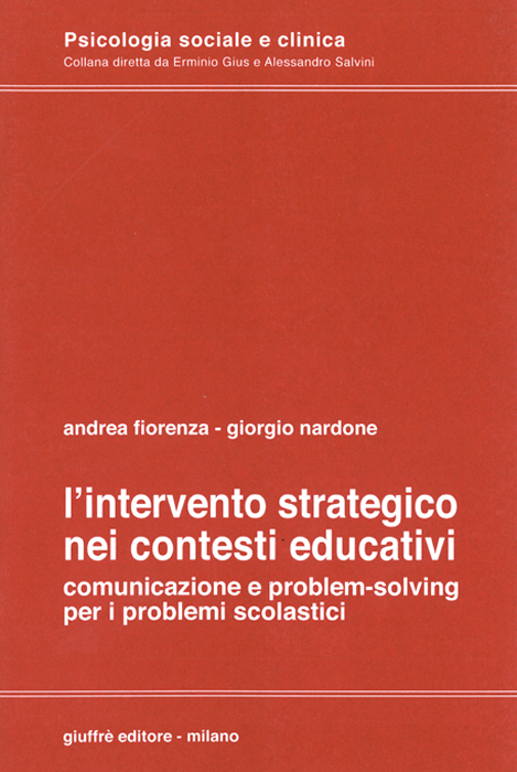 l'intervento strategico nei contesti educativi