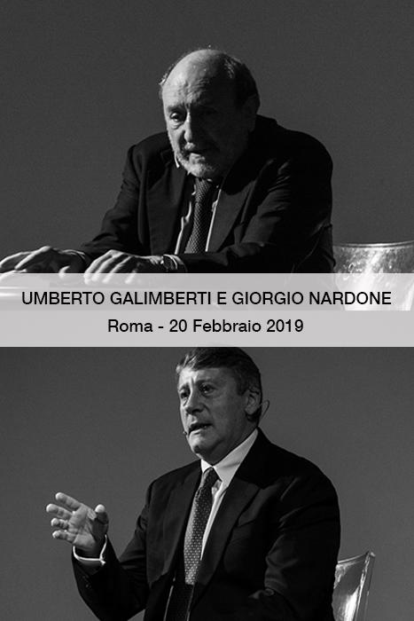 Giorgio Nardone e umberto galimberti