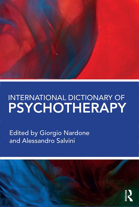 Internation dictionary of psychotherapy book