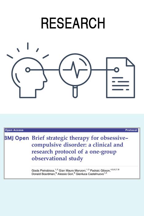 Brief Strategic Therapy for obsessive-compulsive disorder